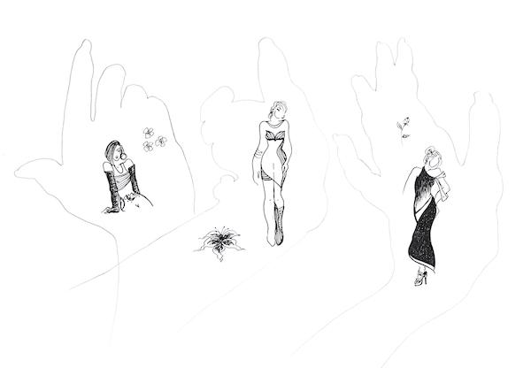 Ana-Madic-Zeichnung-Fashion-drawing-Handgedanken